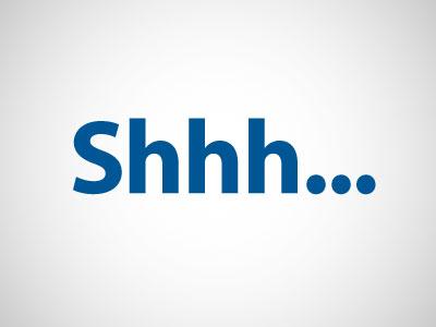 STOP SHOUTING